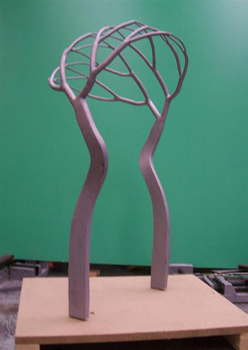 growth arc maquette